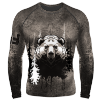 Компрессионный рашгард (лонг) Муж. Beast Медведь в Новосибирске
