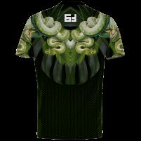 Футболка Jungle Черно-зелёный