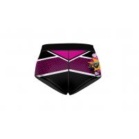 Шорты мини Pop-art черный