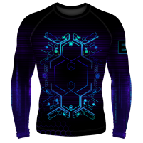 Компрессионный рашгард (лонгслив) Cyberpunk