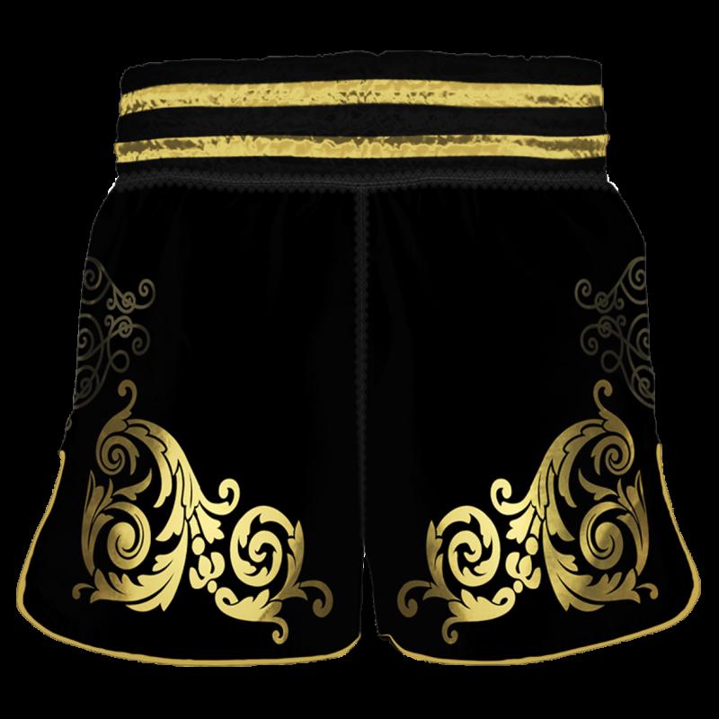 Шорты для тайского бокса el Carpo черный