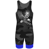Трико атлетическое Military синий в Новосибирске