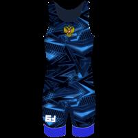 Борцовское трико Fightstar синий