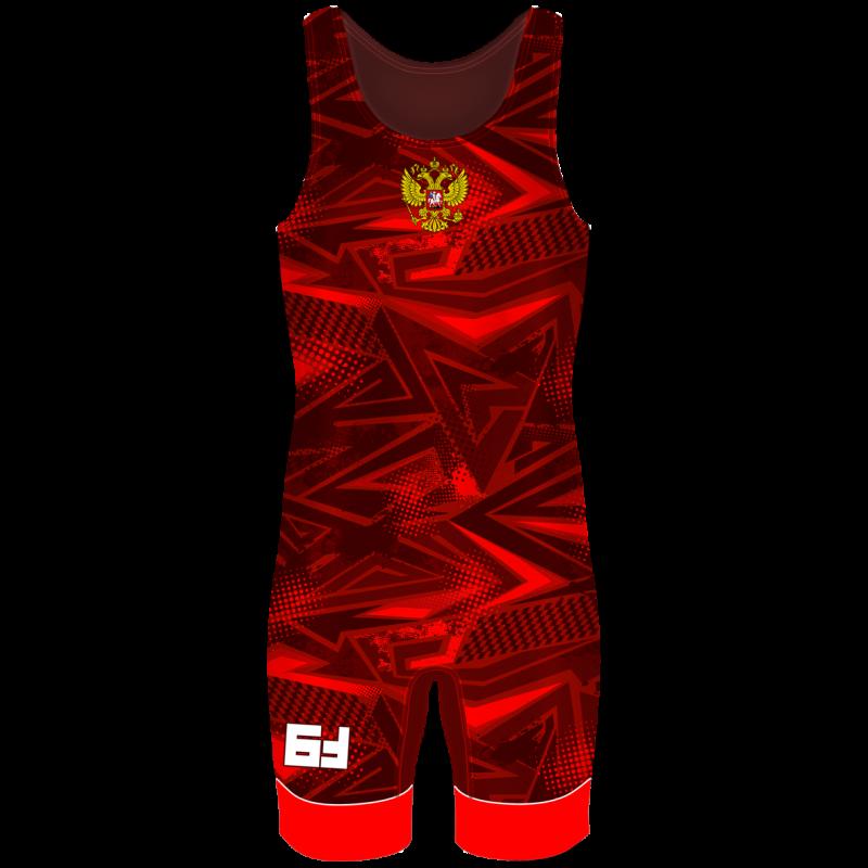 Детское Борцовское трико Fightstar красный